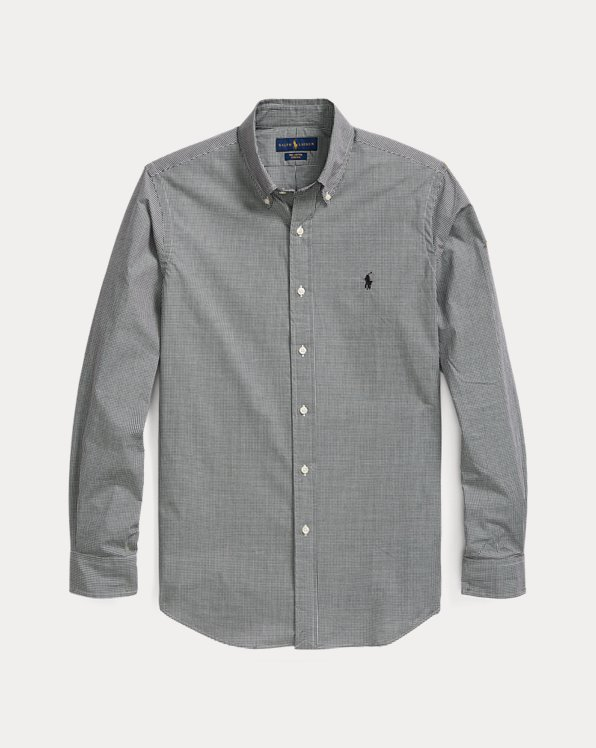 Checked Poplin Shirt - All Fits
