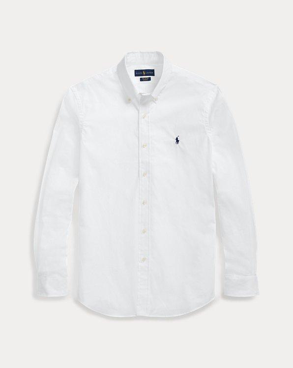 Slim-Fit Popelinehemd