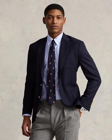 Camisa a rayas de popelina de algodón slim fit