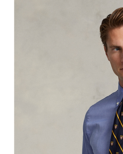 Camicia in popeline Slim-Fit