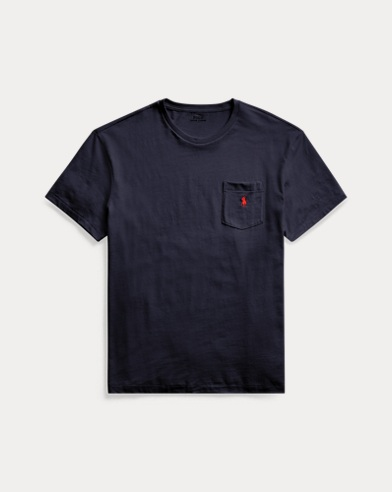 폴로 랄프로렌 Polo Ralph Lauren Classic Fit Pocket T-Shirt,Ink