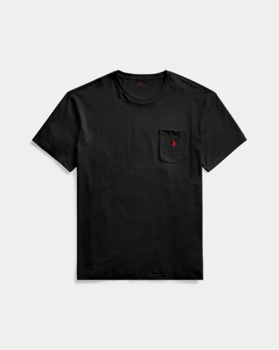 폴로 랄프로렌 Polo Ralph Lauren Classic Fit Pocket T-Shirt,RL Black