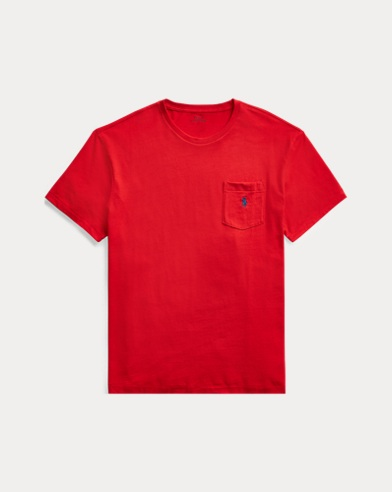 폴로 랄프로렌 Polo Ralph Lauren Classic Fit Pocket T-Shirt,Rl2000 Red
