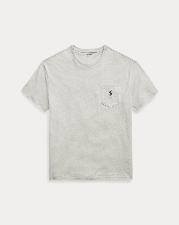 폴로 랄프로렌 Polo Ralph Lauren Classic Fit Pocket T-Shirt,Taylor Heather