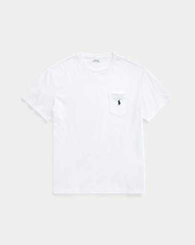 폴로 랄프로렌 Polo Ralph Lauren Classic Fit Pocket T-Shirt,White