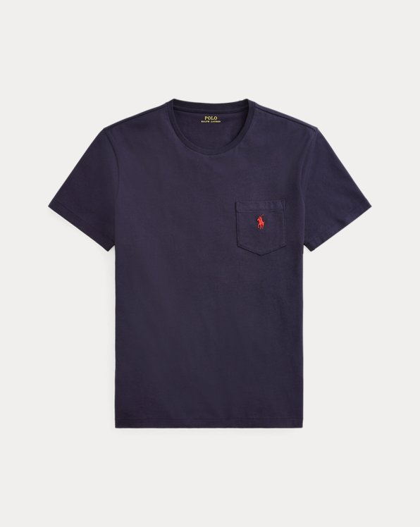 Custom Slim Fit Jersey Pocket T-Shirt