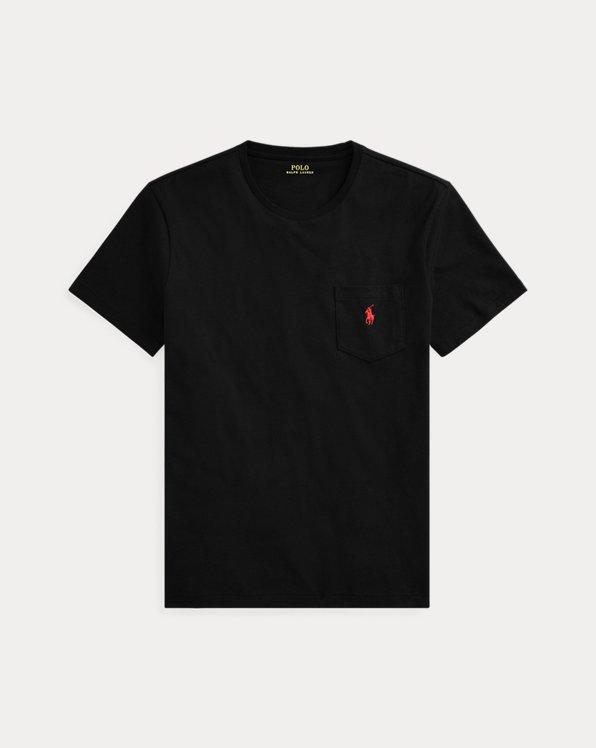 Custom Slim Fit Jersey Pocket T-Shirt