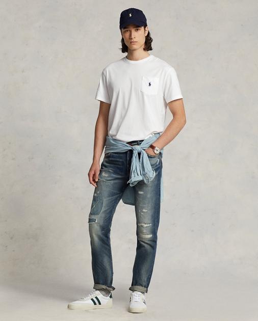 Polo Ralph Lauren Custom-Slim-Fit Baumwoll-T-Shirt 3