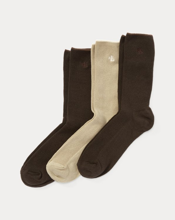 Stretch Trouser Sock 3-Pack