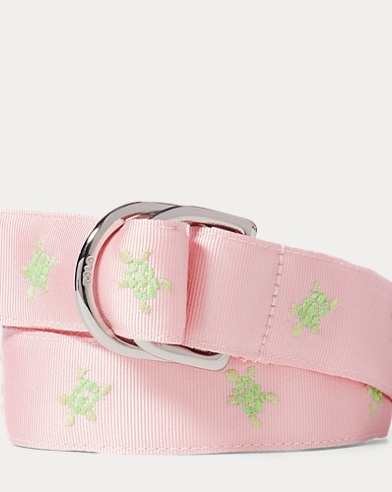 Turtle Grosgrain Belt