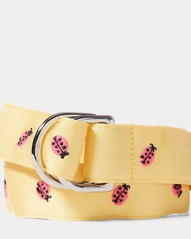 Ladybug Grosgrain Belt
