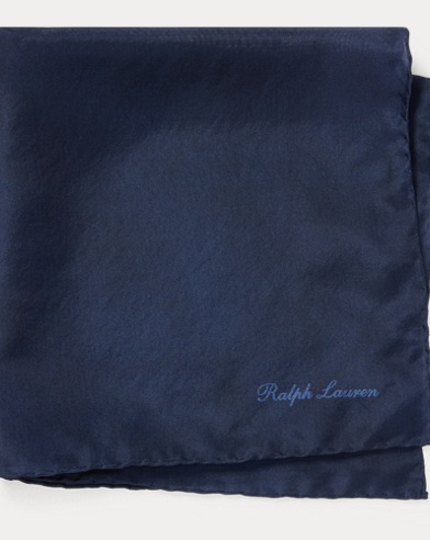 Silk Habotai Pocket Square