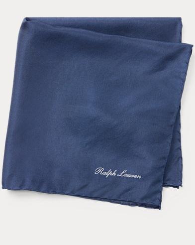 Madder Silk Pocket Square