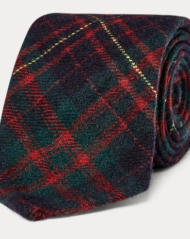 Tartan Cashmere Tie