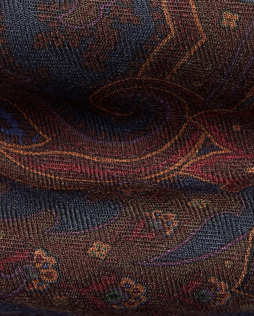 Purple Label Paisley Cashmere-Silk Tie 3