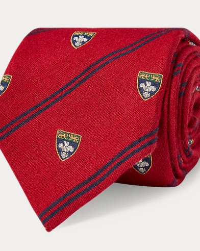 Regimental-Stripe Club Tie
