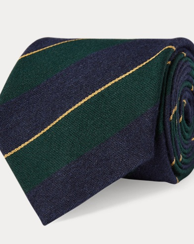 Regimental-Stripe Tie