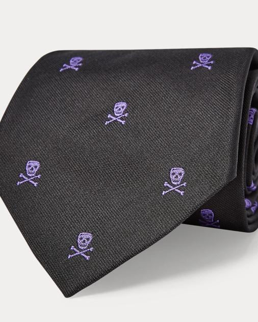 ac4f3672 Skull-and-Crossbones Repp Tie
