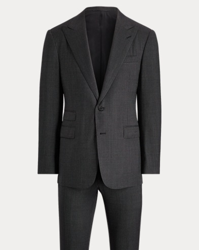 Gregory Nail-Head Wool Suit