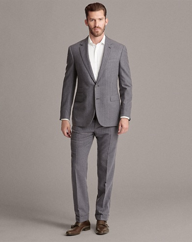 RLX Gregory Striped Wool Suit