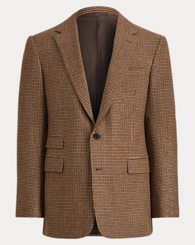 Houndstooth Twill Sport Coat