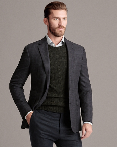 Gregory Glen Plaid Sport Coat