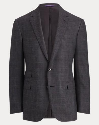 Glen Plaid Twill Sport Coat