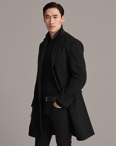 Wool-Cashmere Topcoat