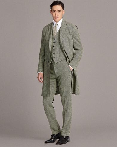 Wool Herringbone Topcoat