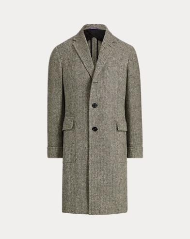 Herringbone Wool Topcoat