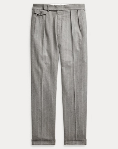 Gregory Pinstripe Trouser
