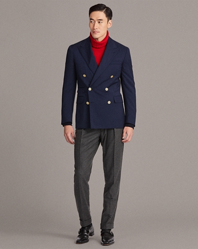 Gregory Peak-Lapel Blazer