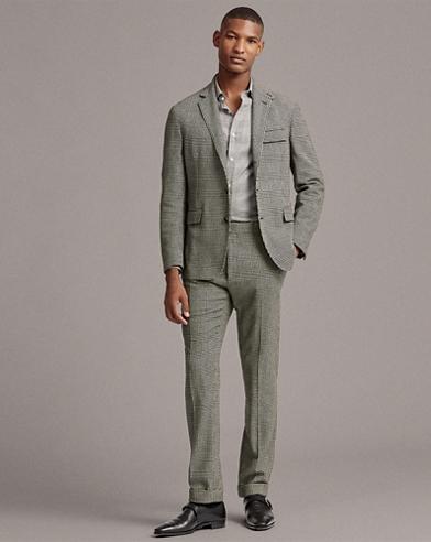 Glen Plaid Wool Tweed Suit