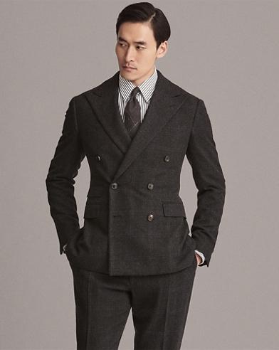 Handmade Glen Plaid Suit
