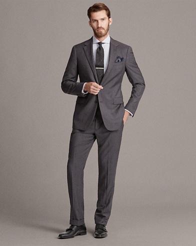 Gregory Handmade Wool Suit