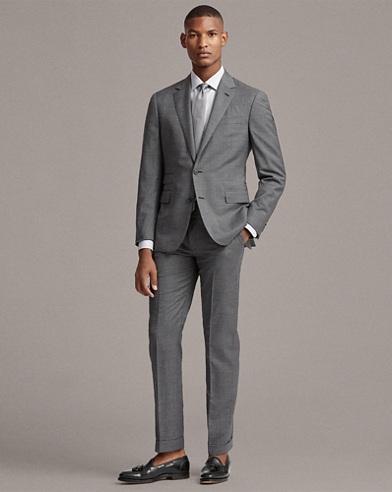 Gregory Wool Sharkskin Suit