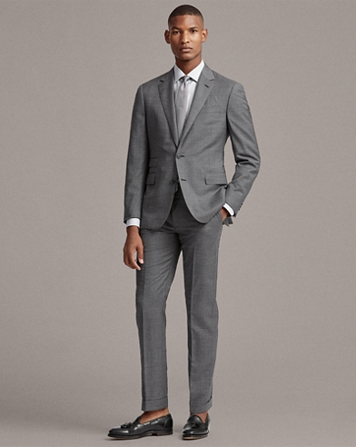 Gregory Wool Sharkskin Suit