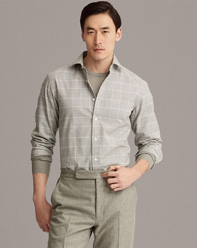 Glen Plaid Twill Shirt