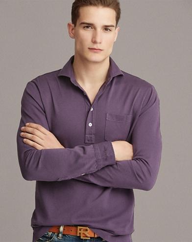 Custom Slim Fit Piqué Shirt