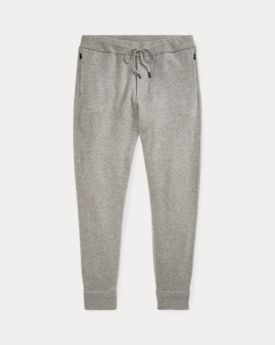 Wool-Cashmere Jogger