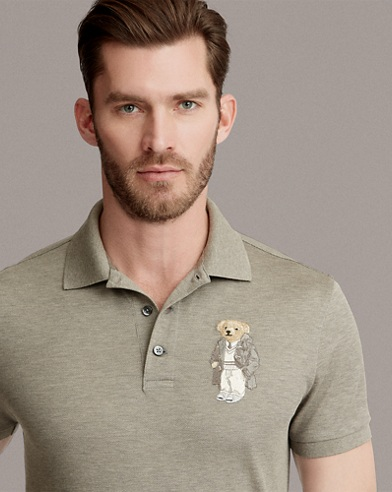 Custom Fit Bear Polo Shirt
