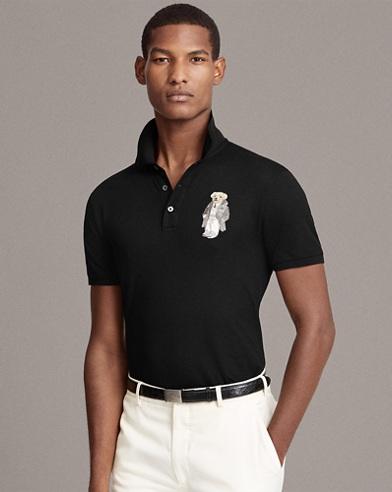 Custom Fit Bear Polo Shirt