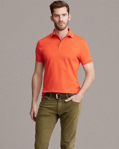 RLX Zip-Placket Stretch Polo