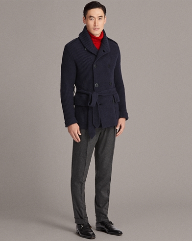 Knit Wool-Cashmere Jacket