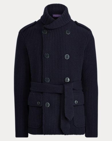 Knit Wool-Cashmere Jacket