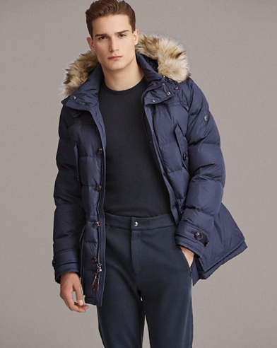 RLX Faux Fur-Trim Down Parka