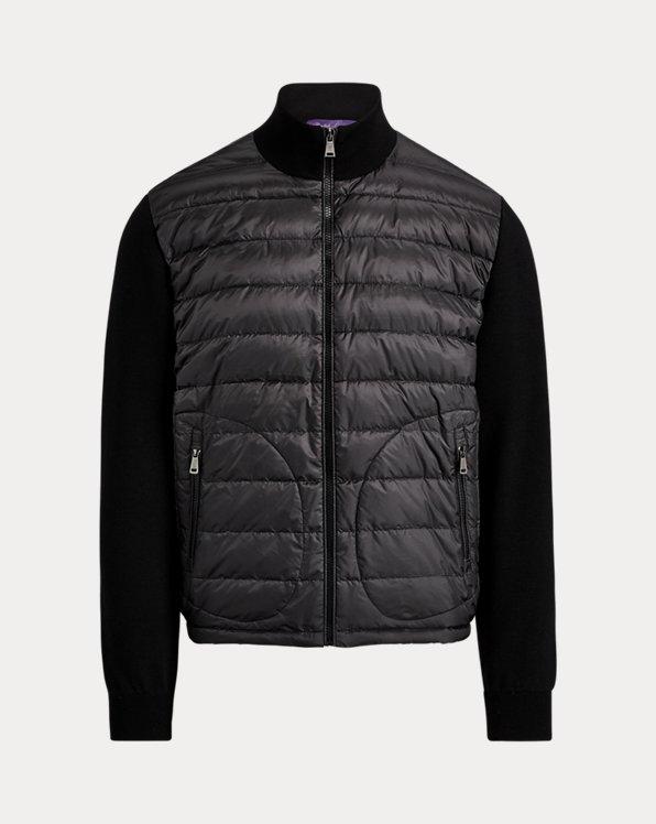 Hybrid Full-Zip Sweater