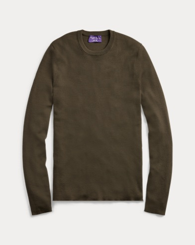 RLX Slim Ribbed Merino Jumper