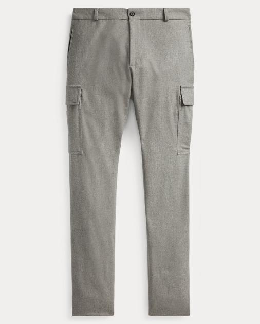 39960d1240 Purple Label Slim Fit Wool Cargo Trouser 1