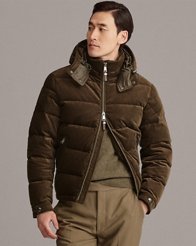 RLX Corduroy Down Coat